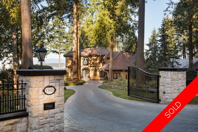 South Surrey House for sale: 5 bedroom 7,255 sq.ft.